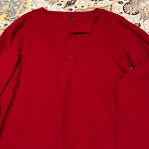 Mens red thermal small